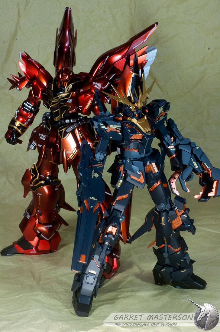 MG Sinanju and Banshee by garretmasterson