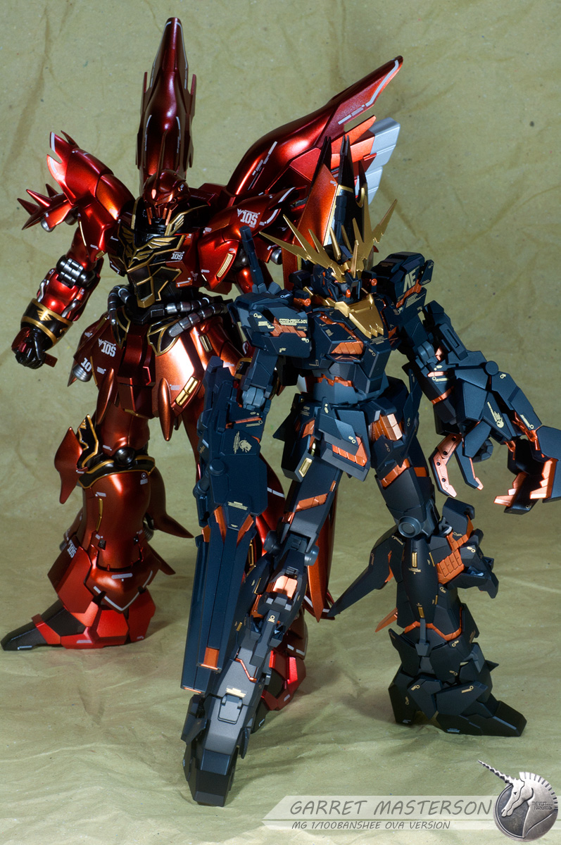 MG Sinanju and Banshee by garretmasterson