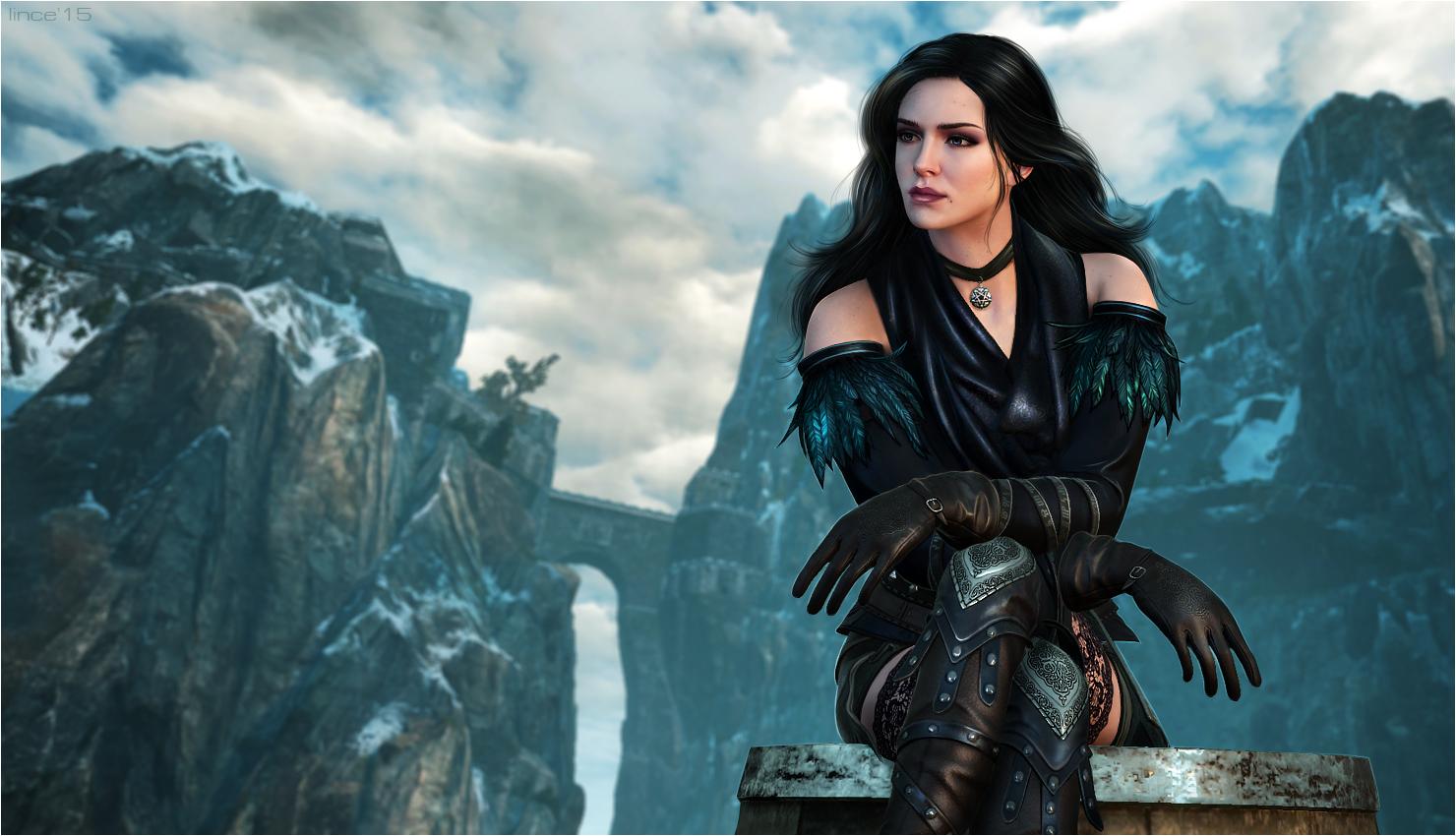The Witcher 3 Yennefer By Linceeslanieva On Deviantart