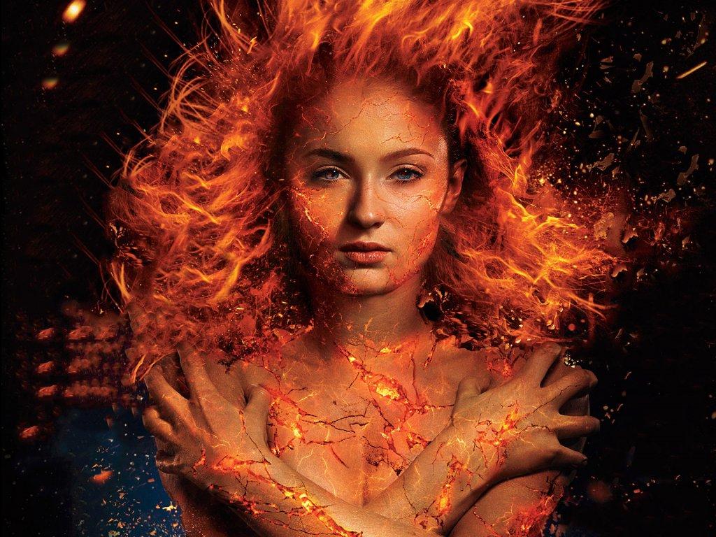 X-Men Dark Phoenix (2018) Jean Grey/Phoenix 2 by WaterSoter