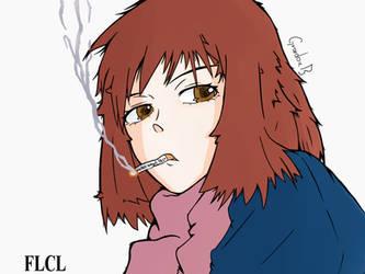 FLCL- Mamimi Samejima by Grardox