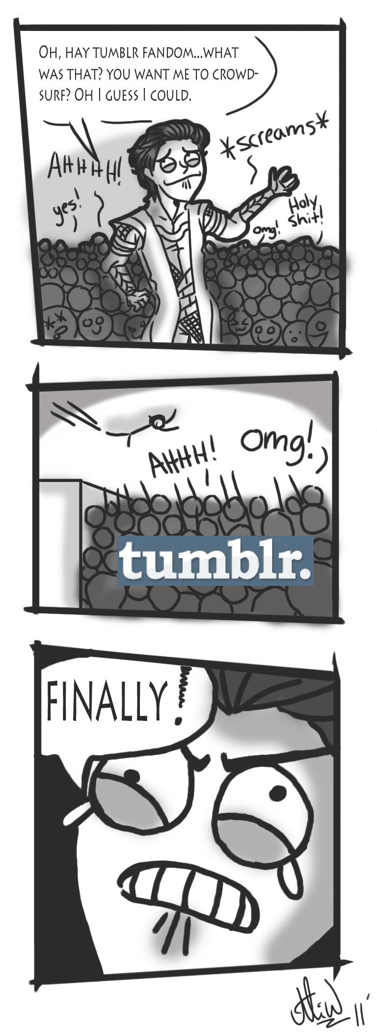 Loki's Tumblr Fandom by FeiFeiKara