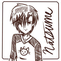 [GA] Natsume Hyuuga by oOBubbleBirdOo