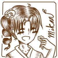 [GA] Mikan Sakura by oOBubbleBirdOo
