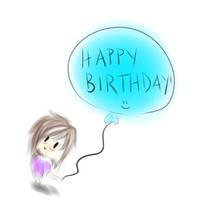 Happy Birthday: silvermidnightmelody by oOBubbleBirdOo