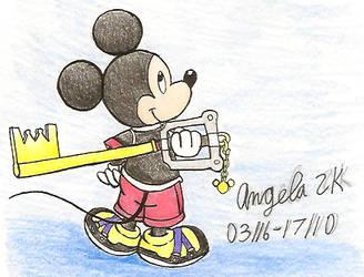 King Mickey by Sherri-Kitsune
