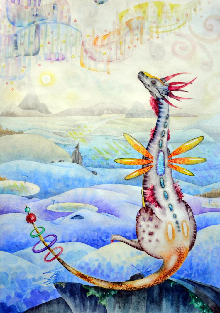 Magic of North by SandBasilisk