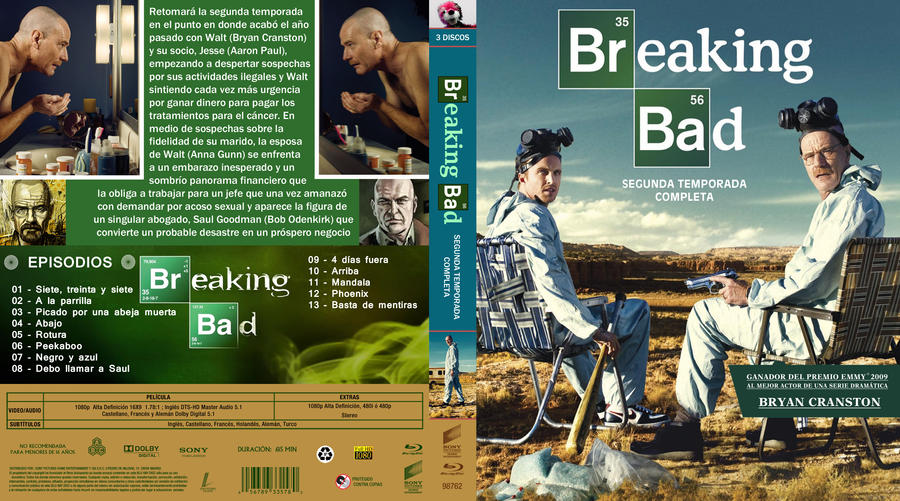 BREAKING BAD TEMPORADA 2 by correasremy on DeviantArt