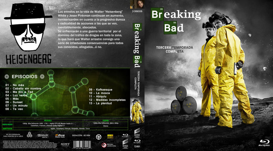 breaking bad tercera temporada by correasremy on deviantart