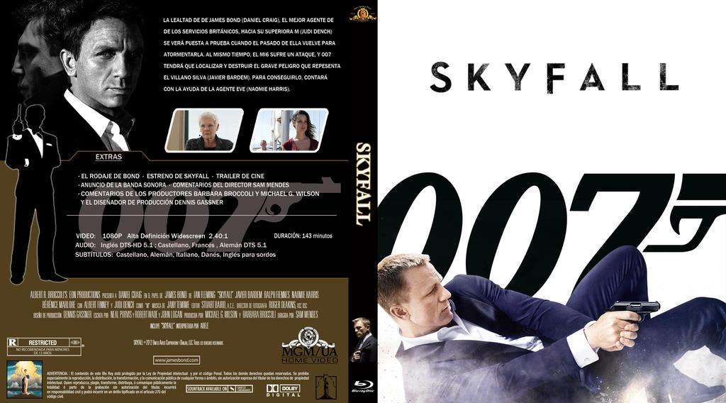 007 Skyfall Dvd ...007 Skyfall Dvd Cover