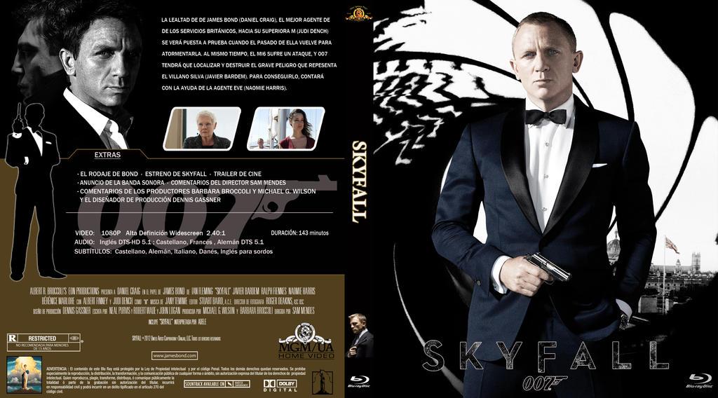 007 Skyfall 4 Sin Numeracin by correasremy on DeviantArt