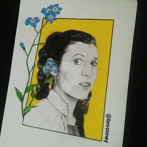 Princess Leia by Alyona007