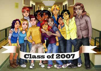 Disney Princesses Class of 07 by lemonfox2002