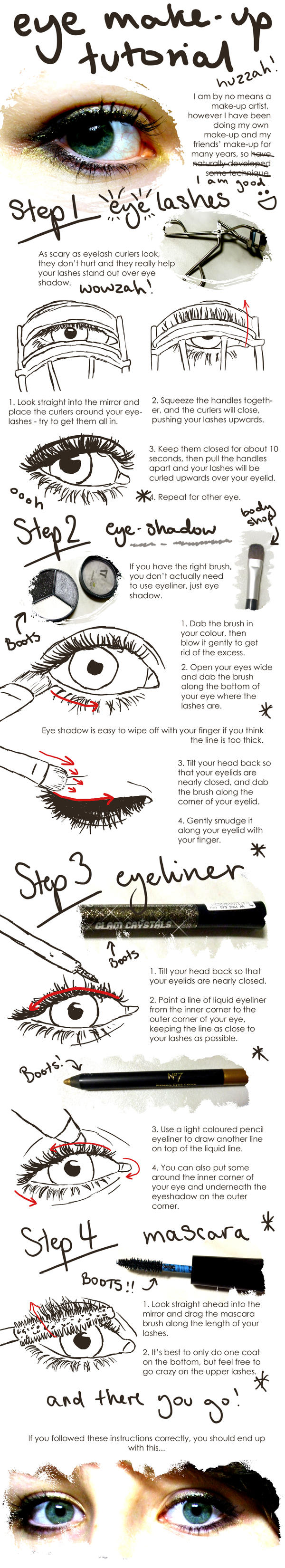 Eye Make-Up Tutorial by lemonfox2002