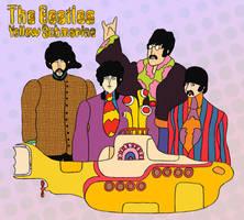 The Beatles - Yellow Submarine by lemonfox2002