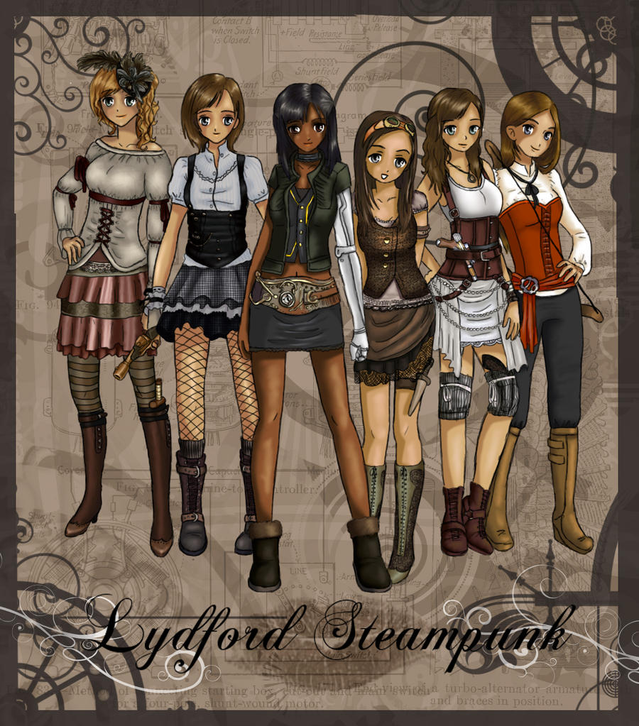 Lydford Steampunk by lemonfox2002