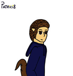 Patricio y lobo