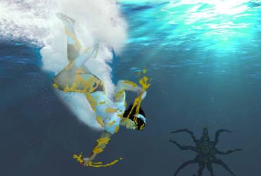 UWH vs Guyros underwater 1 by sudo5348