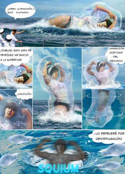 Comic Trace: UWH vs Pestar (Spanish)
