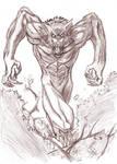 Werewolf sketch 02