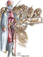 Kommander and troopers sketch by trantsiss