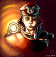 soldier sketch by trantsiss