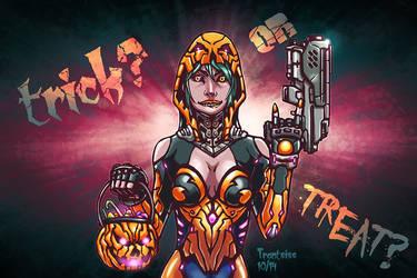 Halloween Sci-fi by trantsiss