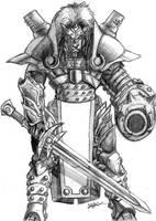 Warcaster sketch by trantsiss
