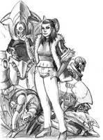 mechanical Army by trantsiss