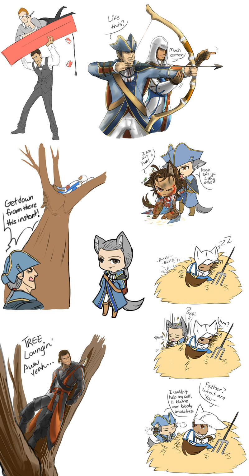 AC3 crack fluff by blacktenshi22