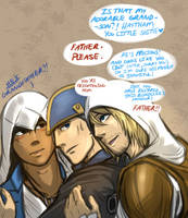Kenway Sammich (SPOILERS) by blacktenshi22
