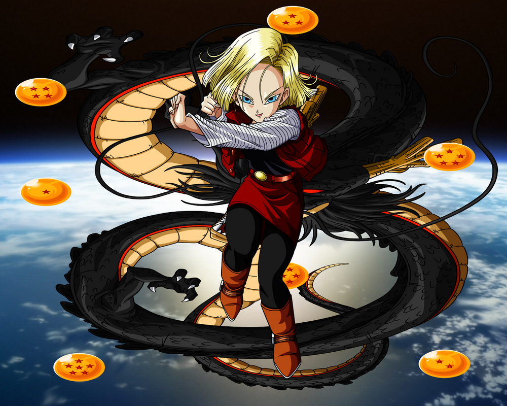 Dragon-ball-x-android-18 By DragonballXUniverse On DeviantArt