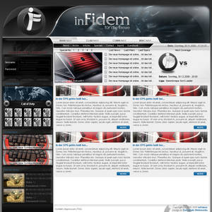inFidem - Screendesign
