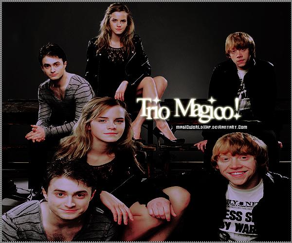 Trio Magico by MagicWorldxHp