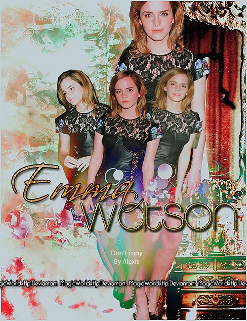 EmmaWatson Love by MagicWorldxHp