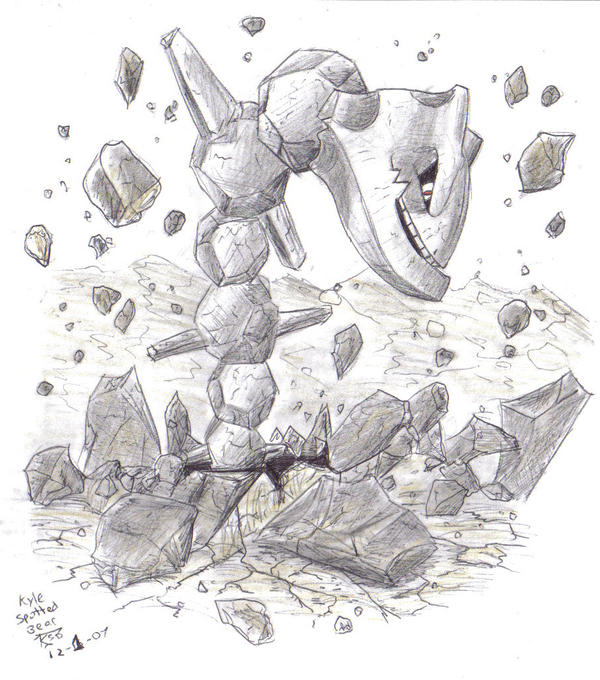 Steelix Rising by Enneigard