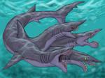 Four Headed Edestus Hydra (Tetraedestus)