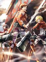 Attack on Titan by ReNon1212