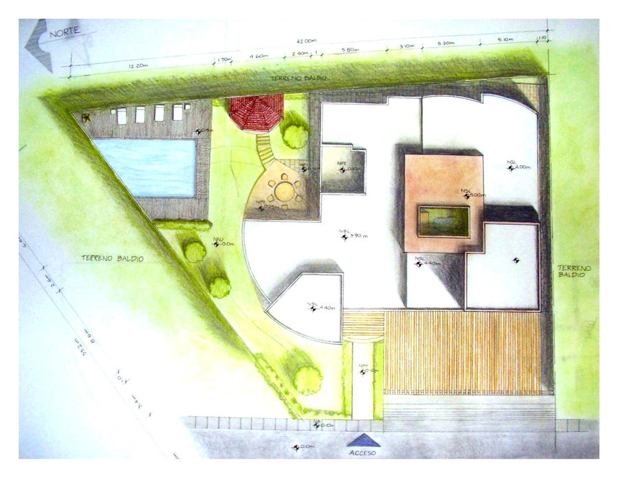 House site plan for design 4 by abim on DeviantArt