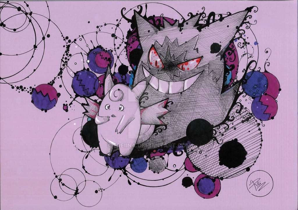 Pokemon Clefable Gengar Images