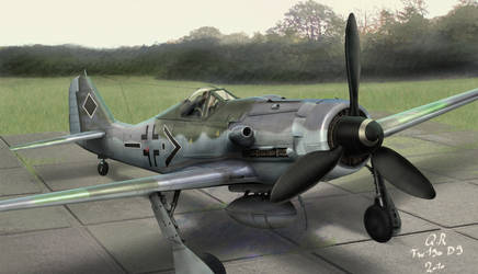 Fw190 D9 by QuentinR