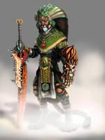 tiger warrior by kyo888