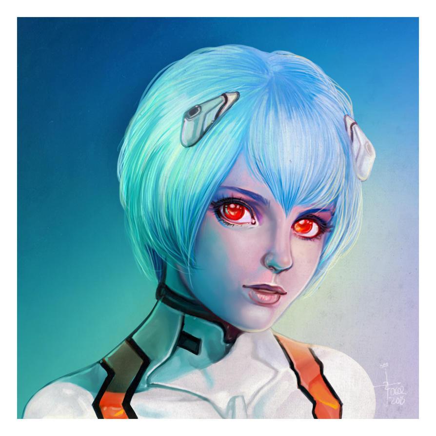 Rei Ayanami by JonathanChanutomo
