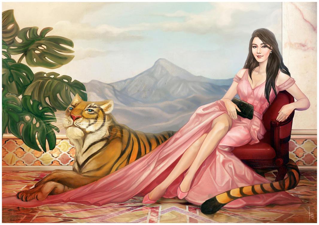 She Tiger by JonathanChanutomo