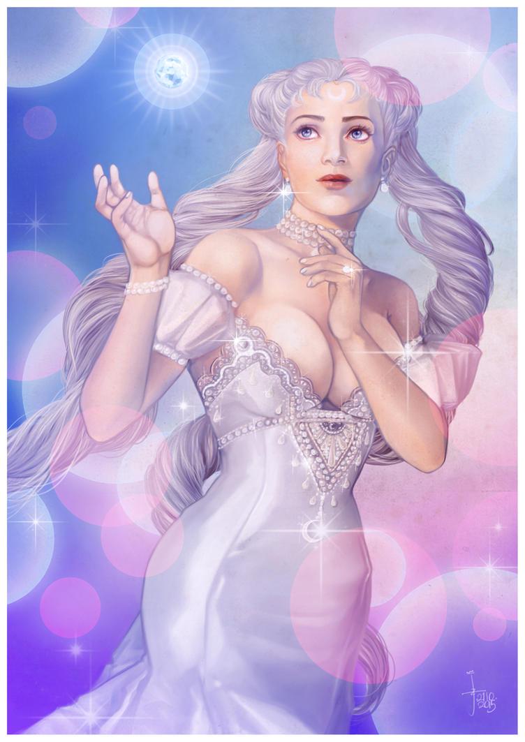 Princess of the Silver Millenium by JonathanChanutomo