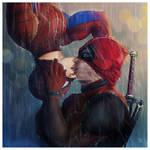 Romance in the Rain by JonathanChanutomo