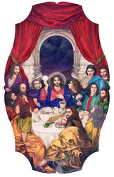 The Last Supper by JonathanChanutomo