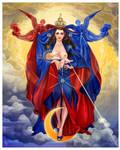 Theotokos by JonathanChanutomo