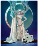 Hel, Goddess of Death and Underworld by JonathanChanutomo