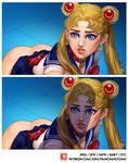Sailor Moon and Unidentified Aerial Phenomena by JonathanChanutomo